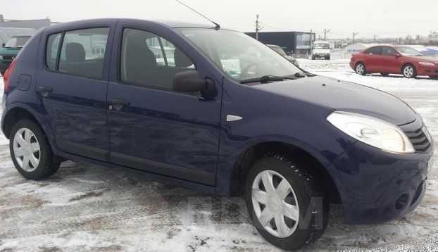 Dacia Sandero, 2009 год, 240 000 руб.