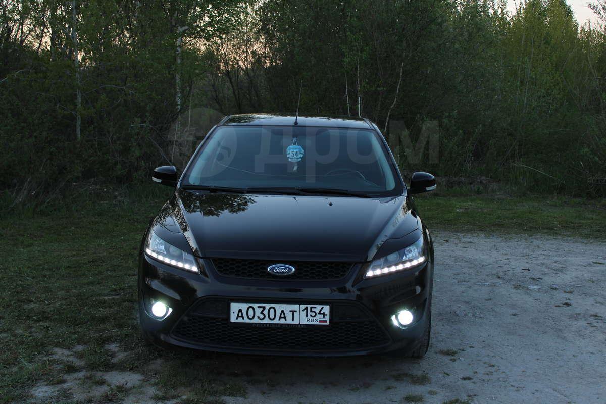 форд фокус 2 черный седан фото