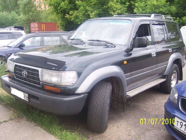 Toyota Land Cruiser, 1997 год, 780 000 руб.