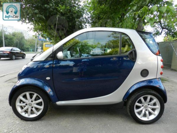 Smart Fortwo, 2001 год, 110 000 руб.
