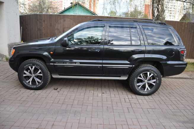 Jeep Grand Cherokee, 2004 год, 549 000 руб.
