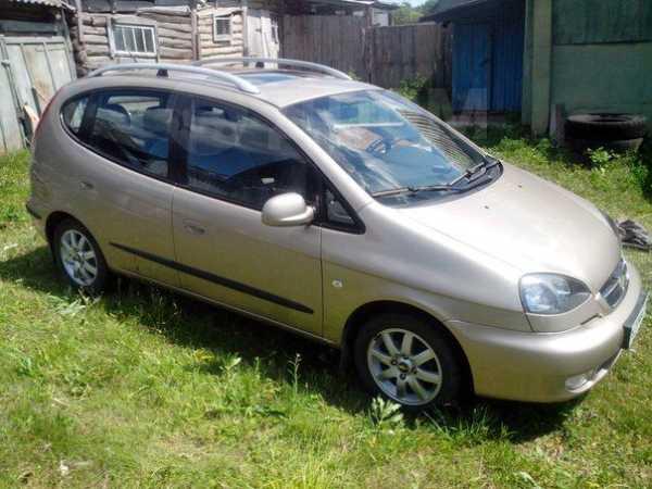 Chevrolet Rezzo, 2006 год, 270 000 руб.