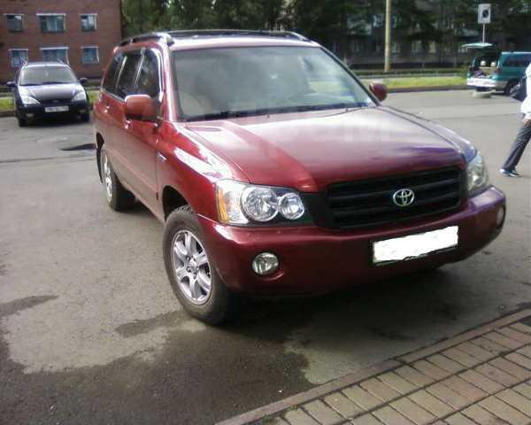 Toyota Highlander, 2000 год, 499 000 руб.