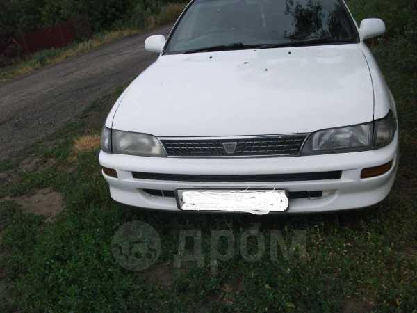 Toyota Corolla, 1992 год, 117 000 руб.