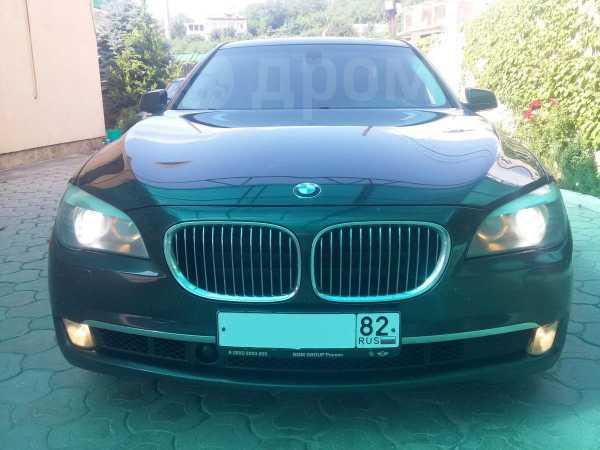 BMW 7-Series, 2010 год, $21500