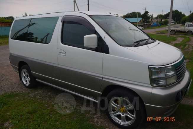 Nissan Elgrand, 1997 год, 340 000 руб.