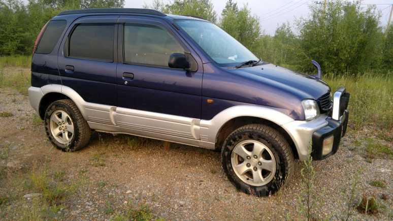 Daihatsu Terios, 1997 год, 350 000 руб.