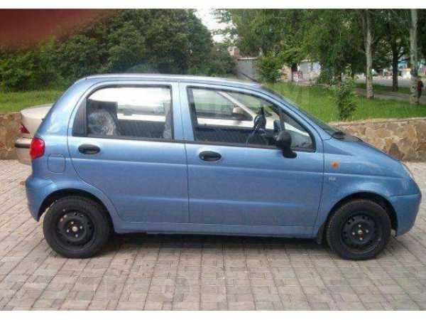 Daewoo Matiz, 2012 год, 290 000 руб.