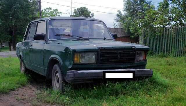 Лада 2107, 1984 год, 15 000 руб.