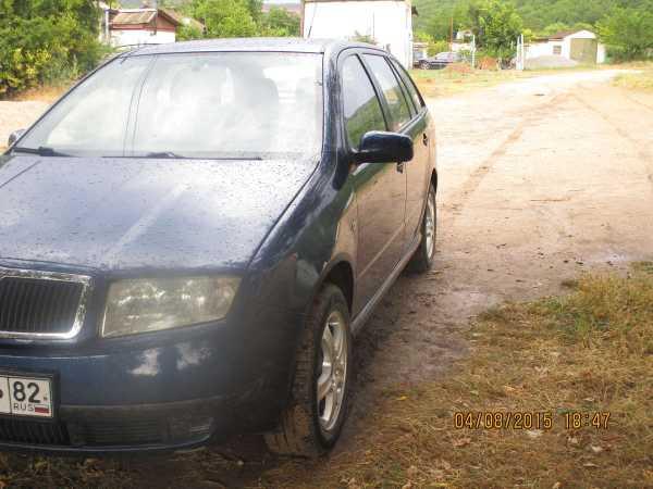 Skoda Fabia, 2001 год, 210 000 руб.