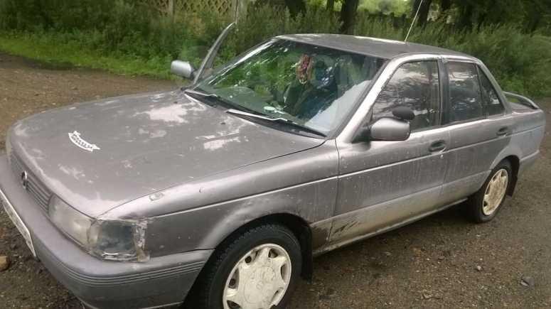 Nissan Sunny, 1991 год, 55 000 руб.