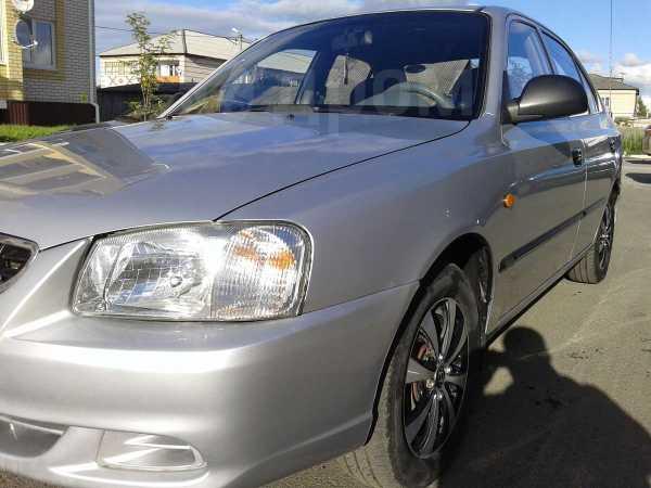 Hyundai Accent, 2004 год, 215 000 руб.