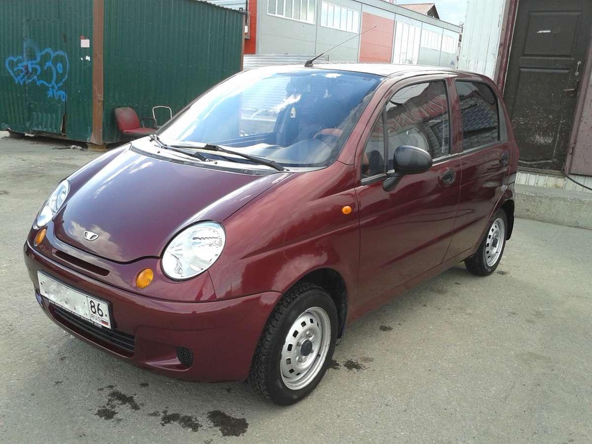 Купить Daewoo Matiz в Сургуте продажа новых автомобилей