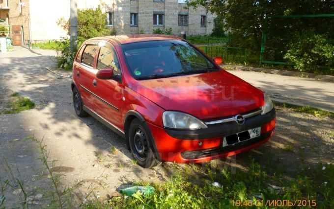 Opel Corsa, 2002 год, 185 000 руб.
