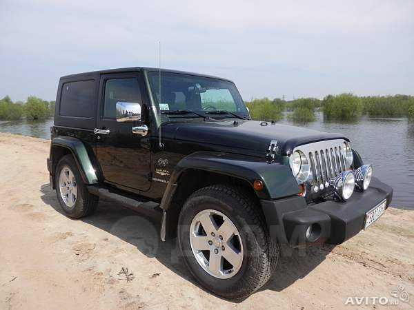 Jeep Wrangler, 2008 год, 939 104 руб.