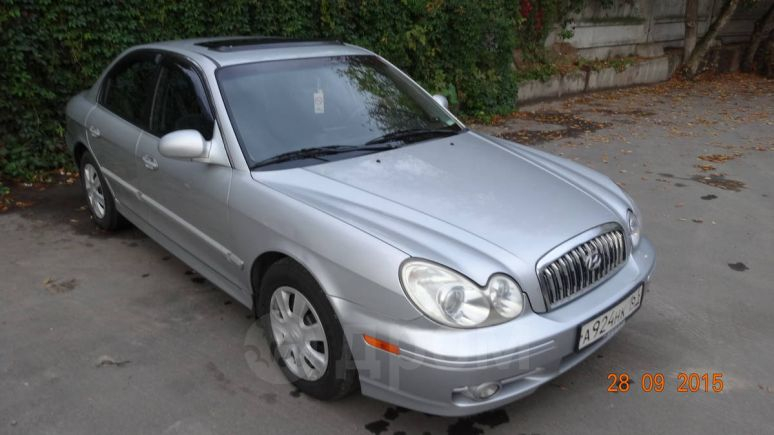 Hyundai Sonata, 2002 год, 235 000 руб.