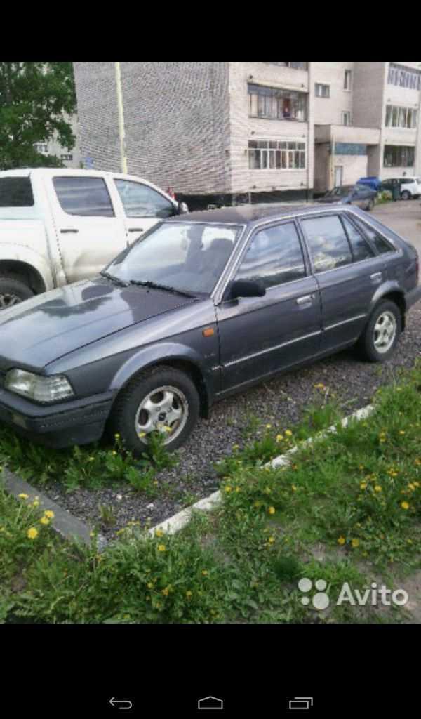 Mazda 323, 1989 год, 60 000 руб.