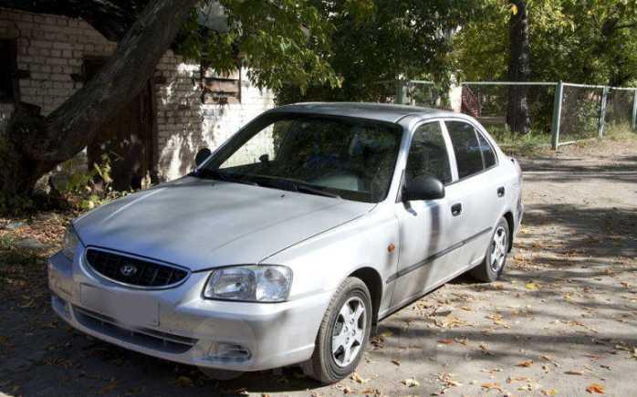 Hyundai Accent, 2005 год, 195 000 руб.