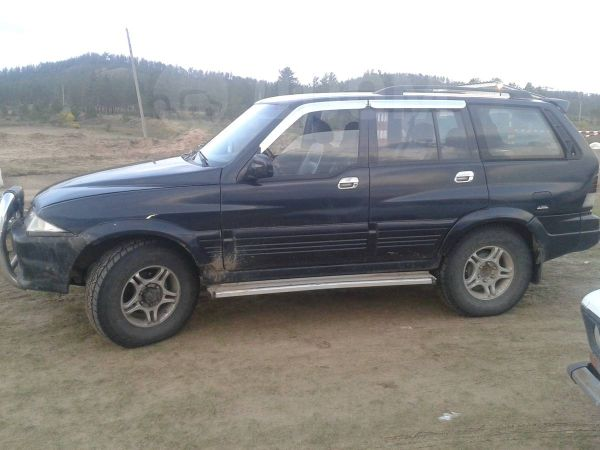 SsangYong Musso, 1998 год, 270 000 руб.