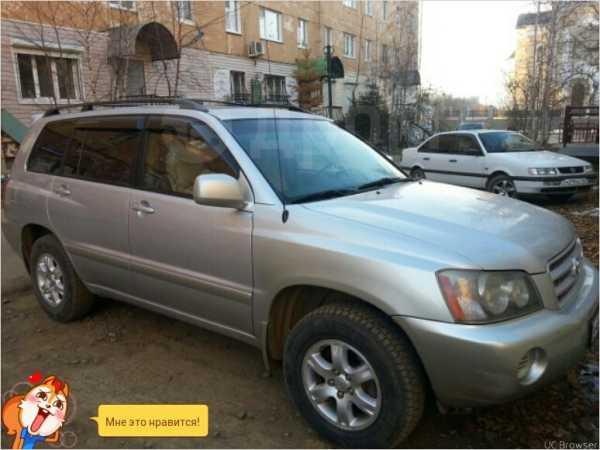 Toyota Highlander, 2002 год, 590 000 руб.