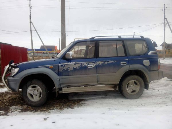 Toyota Land Cruiser Prado, 2000 год, 600 000 руб.