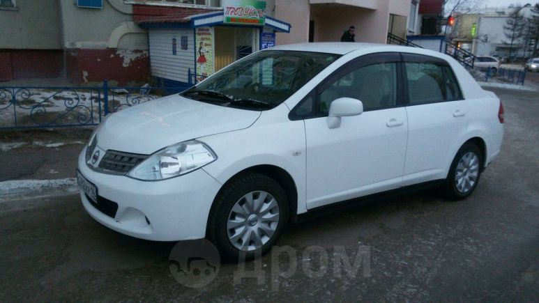 Nissan Tiida Latio, 2008 год, 360 000 руб.