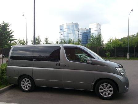 Nissan Elgrand 2005 - отзыв владельца
