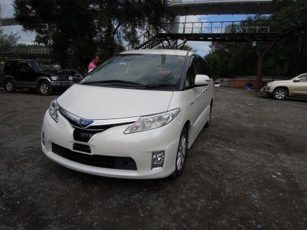 Toyota Estima 2013 - отзыв владельца