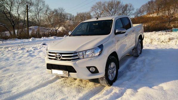 Toyota Hilux Pick Up 2015 - отзыв владельца
