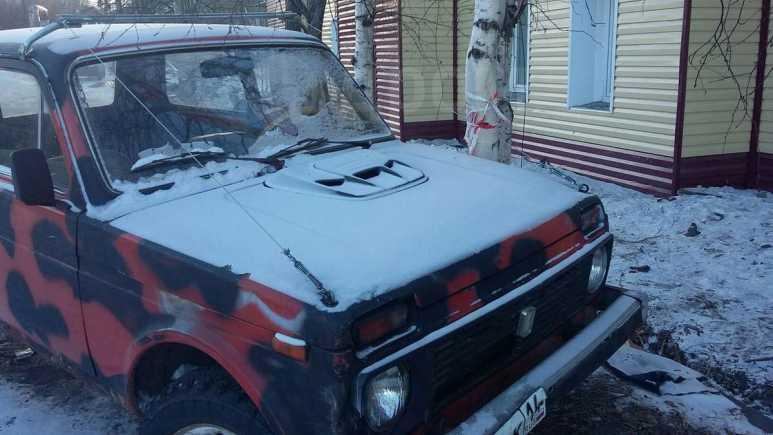 Лада 4x4 2121 Нива, 1985 год, 35 000 руб.