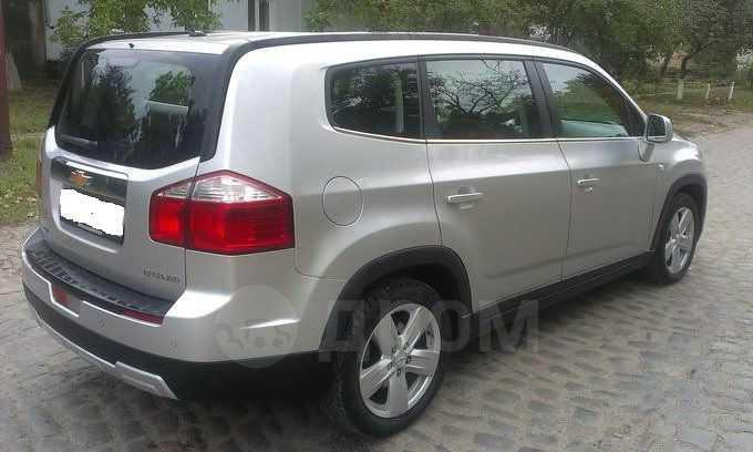 Chevrolet Orlando, 2013 год, 727 000 руб.