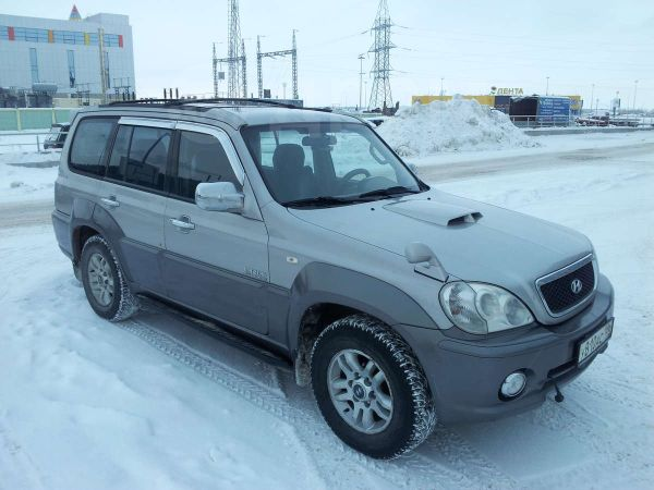 Hyundai Terracan, 2004 год, 420 000 руб.