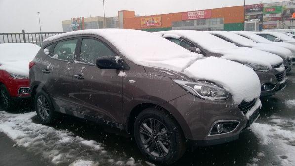 Hyundai ix35 2015 - отзыв владельца