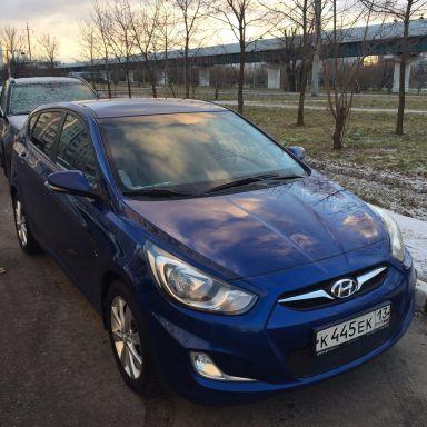 Hyundai Solaris 2012 отзыв автора | Дата публикации 27.12.2015.