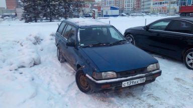 Mazda Familia 1991 отзыв автора | Дата публикации 29.12.2015.