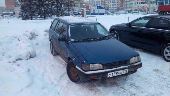 Mazda Familia 1991 - отзыв владельца