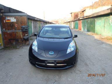 Nissan Leaf 2012 отзыв автора | Дата публикации 14.11.2014.