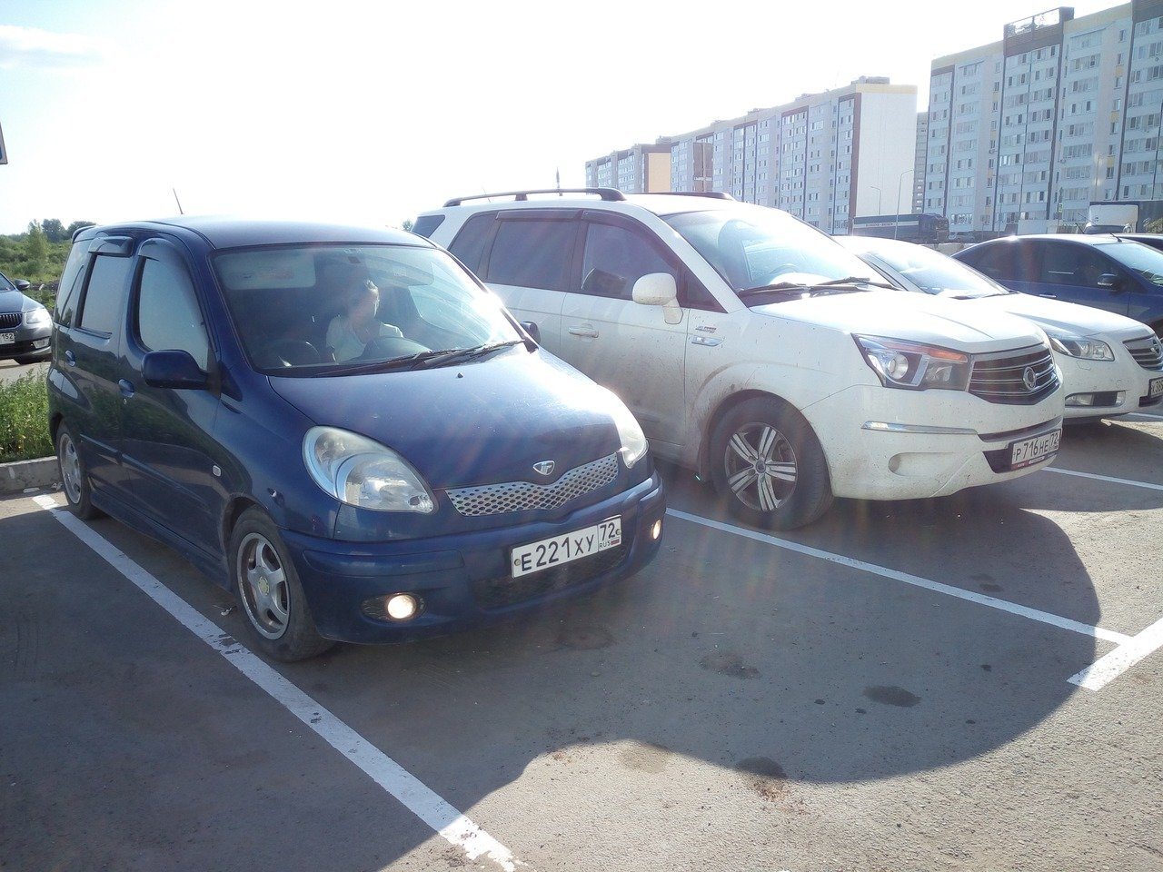 семейная парковка - Фунтик и Ставик :)