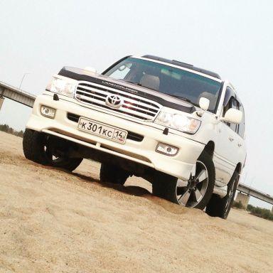 Toyota Land Cruiser 2000 отзыв автора | Дата публикации 12.12.2015.