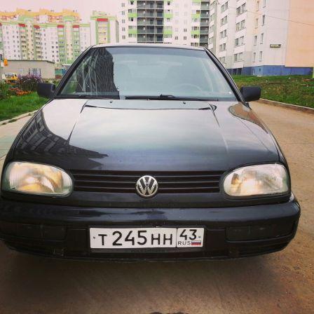 Volkswagen Golf 1996 - отзыв владельца