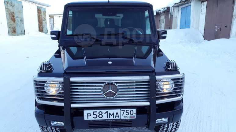 Mercedes-Benz G-Class, 2001 год, 1 270 000 руб.