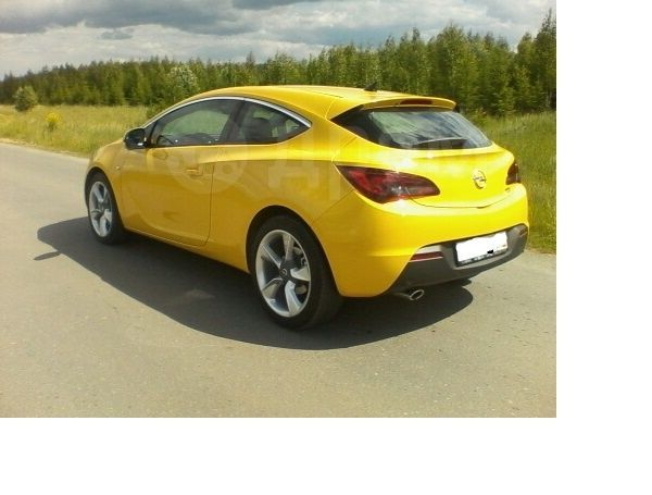 Opel Astra GTC, 2013 год, 730 000 руб.