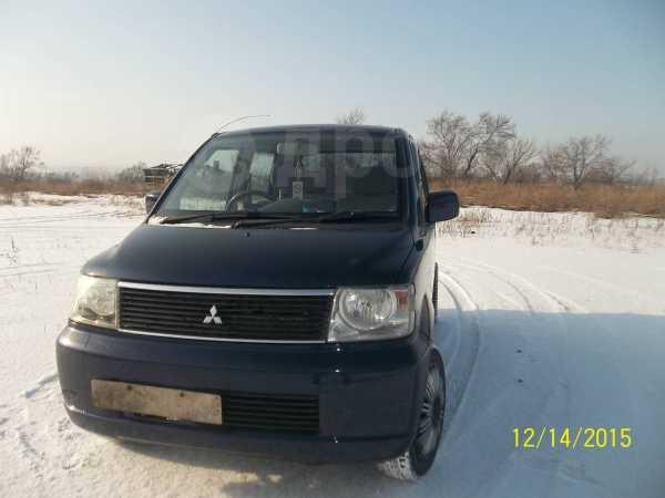 Mitsubishi eK Wagon, 2003 год, 135 000 руб.