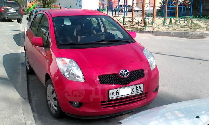 Toyota Yaris, 2008 год, 340 000 руб.