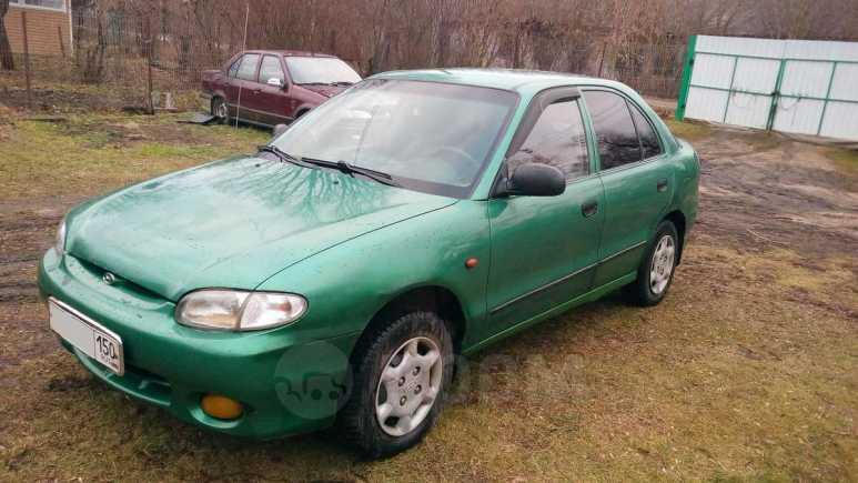 Hyundai Accent, 1998 год, 75 000 руб.