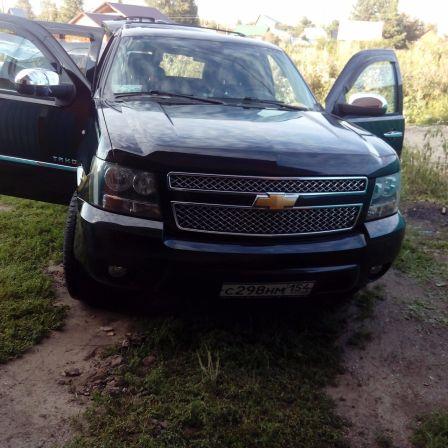 Chevrolet Tahoe 2013 - отзыв владельца