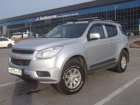 Chevrolet TrailBlazer 2013 - отзыв владельца