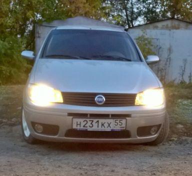 Fiat Albea 2007 отзыв автора | Дата публикации 13.01.2016.