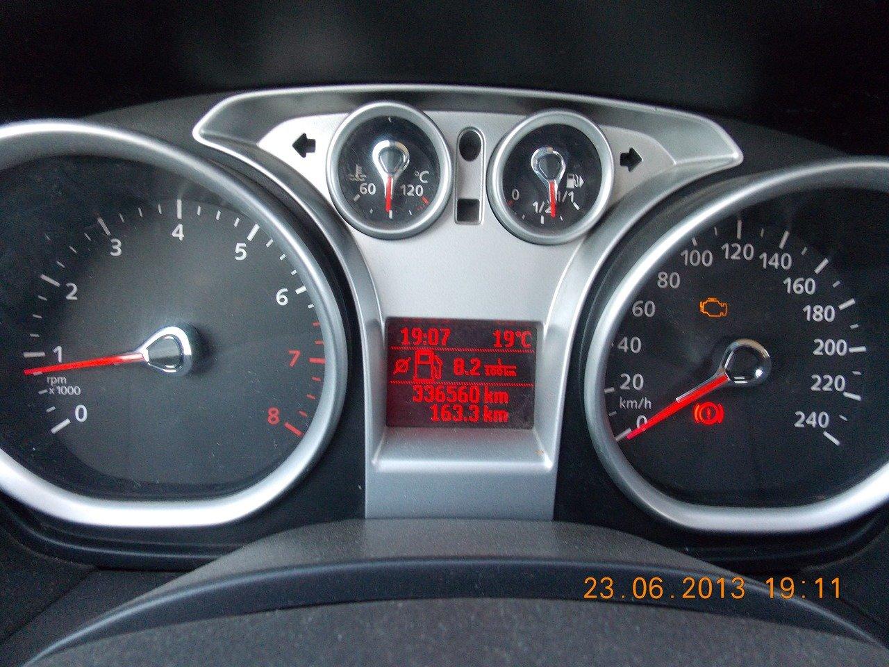 нормальный пробег дла ford focus tddi 1.8
