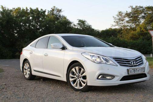 Hyundai Grandeur 2013 - отзыв владельца